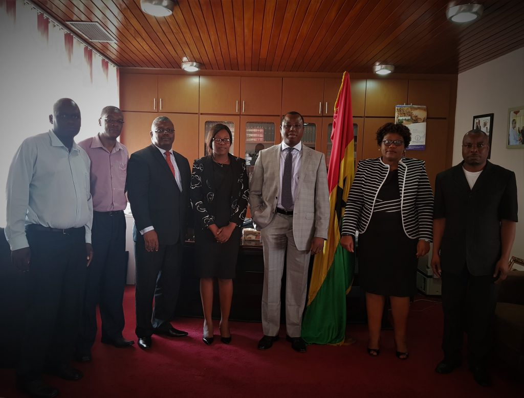 Visit By The Zimbabwe Human Rights Commission (ZHRC) To CHRAJ