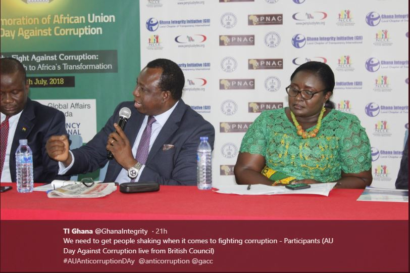 Commemoration Of The African Union (AU) Day Against Corruption