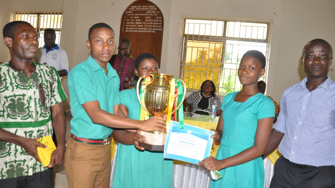 Amansie West District Organizes Human Rights Quiz Competition For Schools