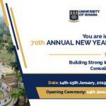 70th ANNUAL NEW YEAR SCHOOL OPENS IN ACCRA TODAY