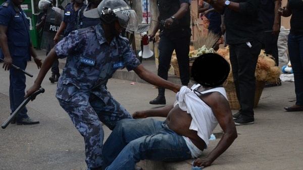 Press Statement – CHRAJ Condemns Police Assault on Journalists