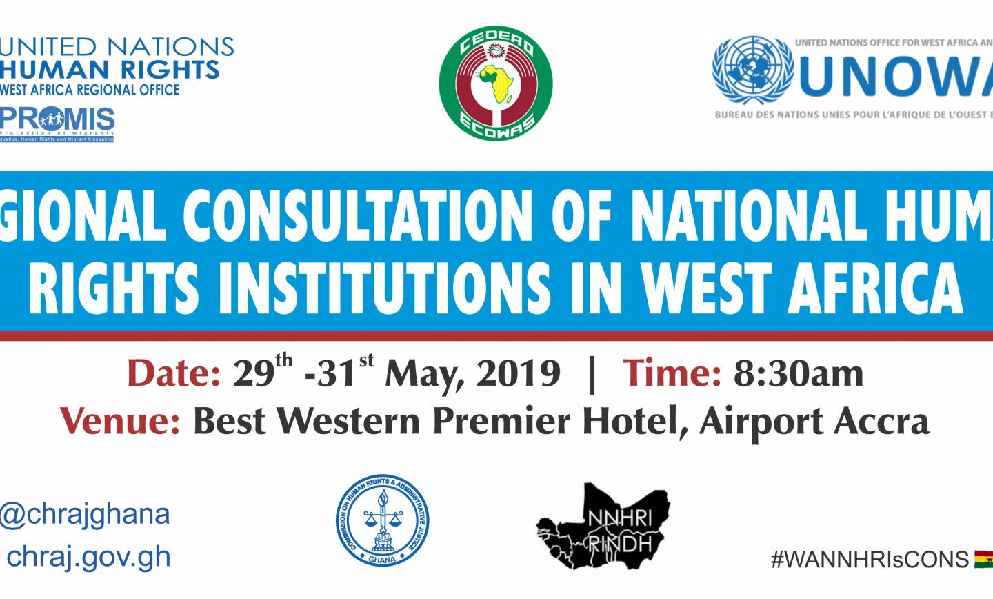 Regional Consultation of National Human Rights Institutions in West Africa – Accra, Ghana