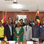 13 Ugandan Delegation pays Benchmarking Visit To CHRAJ