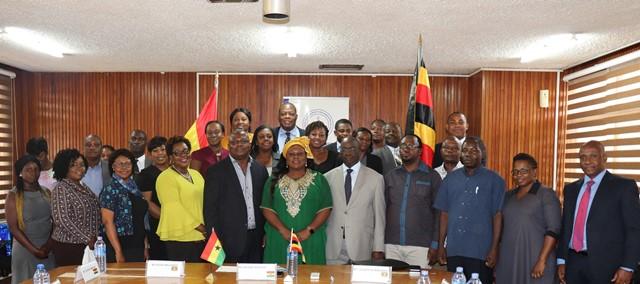 13 Ugandan Delegation pays Benchmarking Visit To CHRAJ