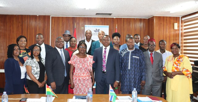 CHRAJ Hosts Gambian Human Rights Commission Members