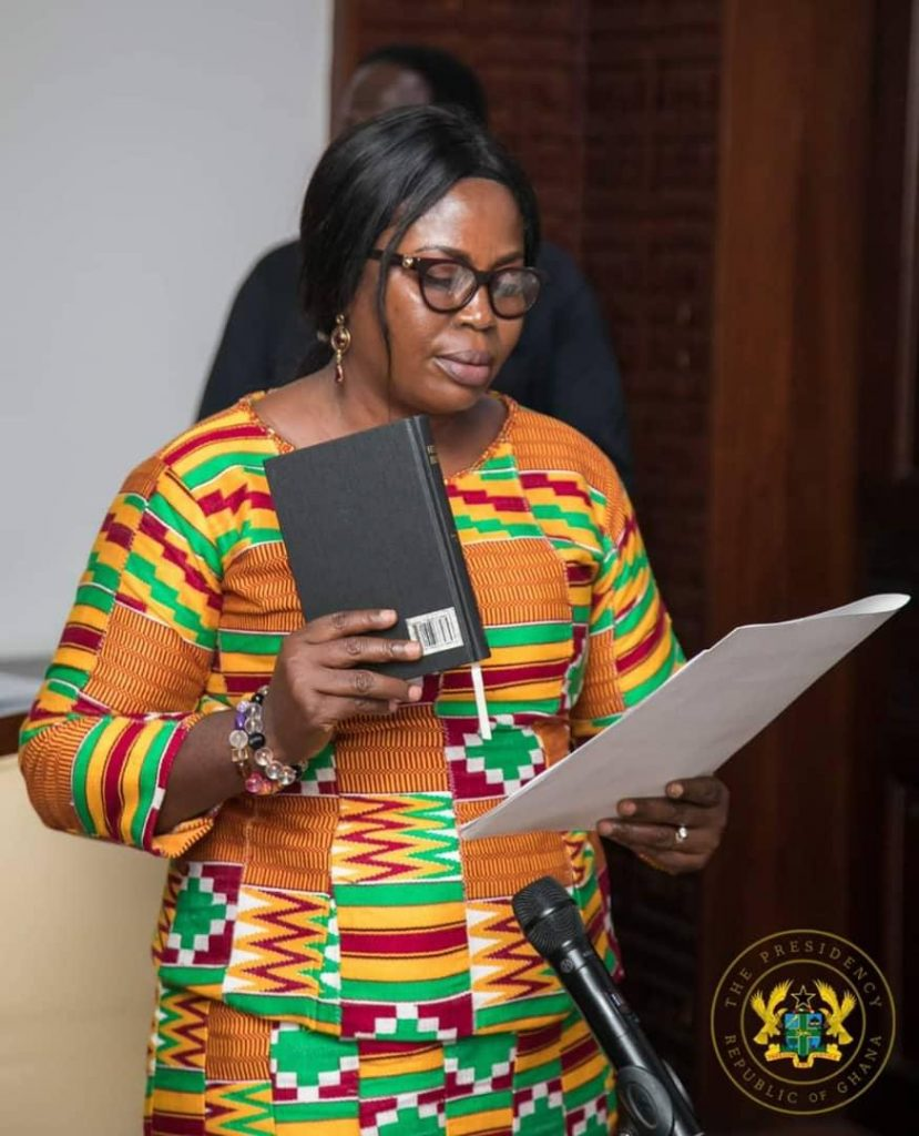 Mercy Larbi Appointed as new Deputy CHRAJ Commissioner