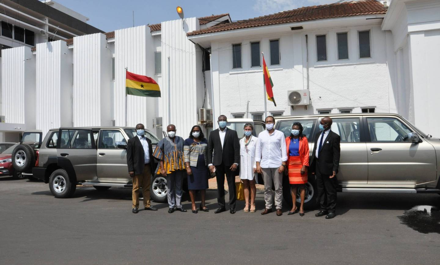 ARAP Hands Over Vehicles To CHRAJ To Monitor And Evaluate Activities In The Regions
