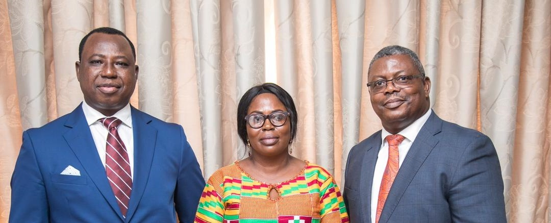 CHRAJ COMMISSIONER AND THE TWO DEPUTIES